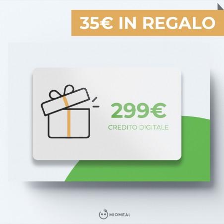 RICARICA 299€ IN REGALO 35€