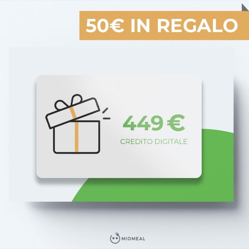 RICARICA 449€ IN REGALO 50€