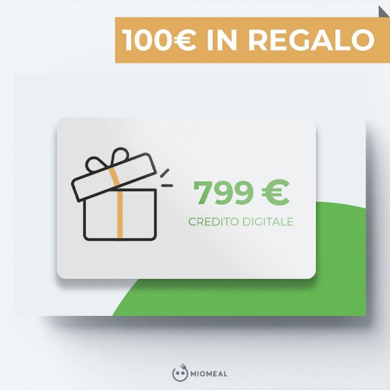 RICARICA 799€ IN REGALO 100€