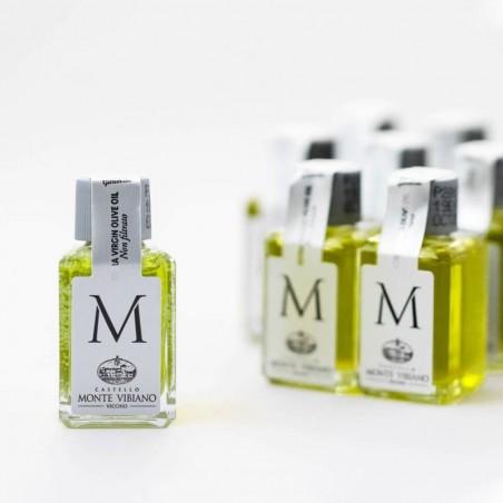 9 Bottigliette di olio biologico Monte Vibiano 10ML